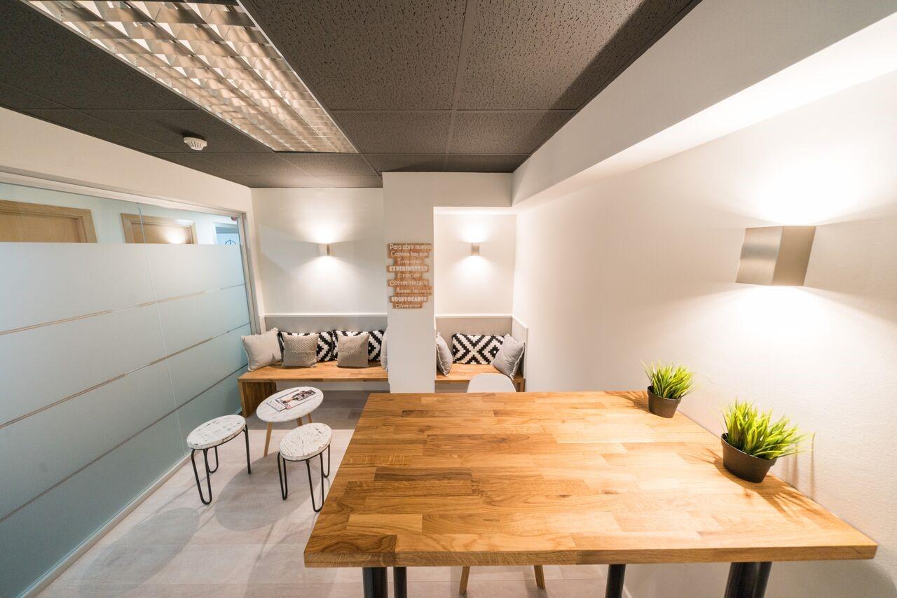 Un espacio laboral cómodo y prestigioso