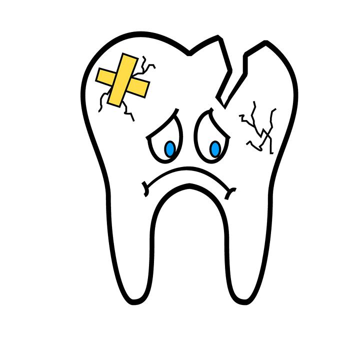 ¿Cómo reparar un diente roto?
